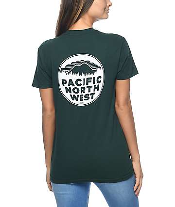 Casual Industrees PNW camiseta verde