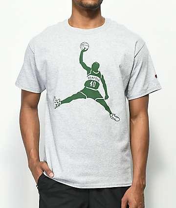Casual Industrees Reign Man camiseta gris