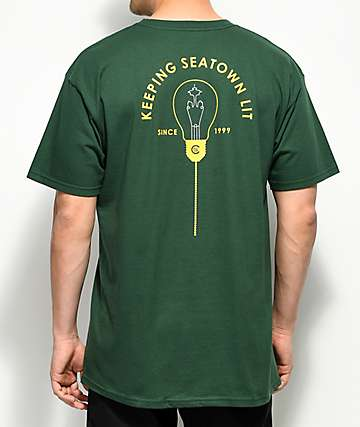 Casual Industrees SEA Keeping Seatown Lit Green T-Shirt