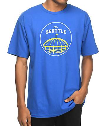 Casual Industrees Sea Old Seattle Blue T-Shirt