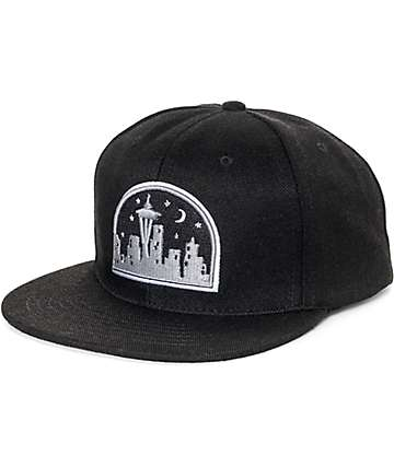 Casual Industrees Seattle Nights Snapback Hat