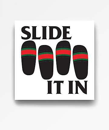 Casual Industrees Slide It In Sticker