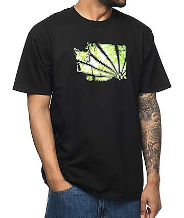Casual Industrees WA Brah Canopy camiseta negra