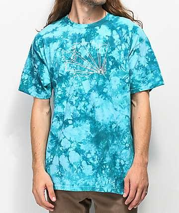Casual Industrees WA Brah Teal Tie Dye T-Shirt