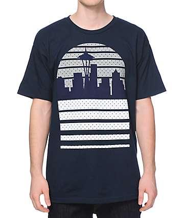 Casual Industrees WA Seattle Skyline OG camiseta