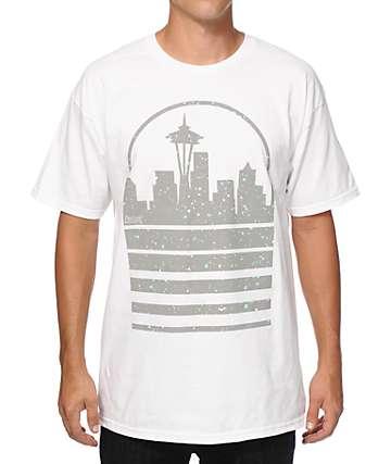 Casual Industrees WA Seattle Skyline Speckle camiseta