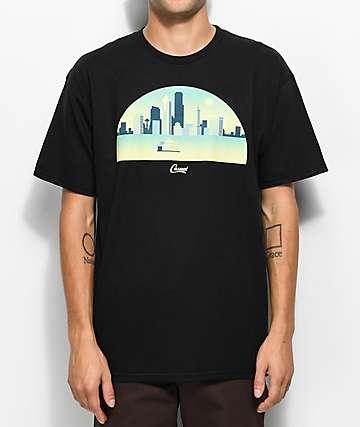 Casual Industrees WA Skyline Arch 3D camiseta negra