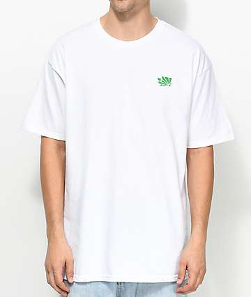 Casual Industrees Washington Brah Embroidery White T-Shirt