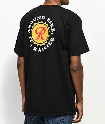 Casual Industrees x Rainier Around Here Black T-Shirt