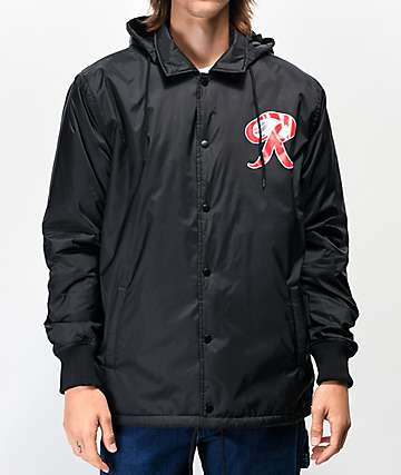 Casual Industrees x Rainier Black Coaches Jacket