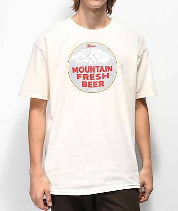 Casual Industrees x Rainier Mountain Fresh Cream T-Shirt