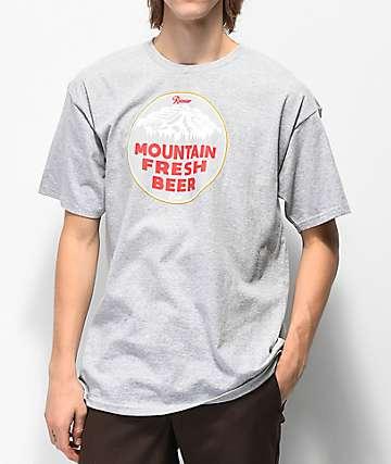 Casual Industrees x Rainier Mountain Fresh camiseta gris