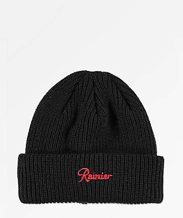 Casual Industrees x Rainier R Black Beanie