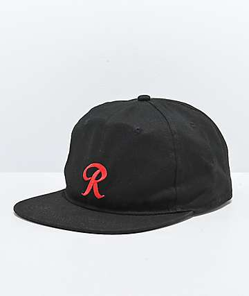 Casual Industrees x Rainier R Black Strapback Hat