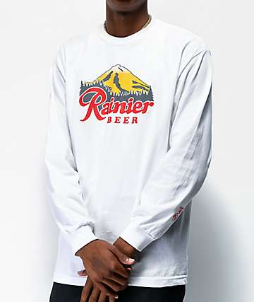 Casual Industrees x Rainier Rainbeer White Long Sleeve T-Shirt