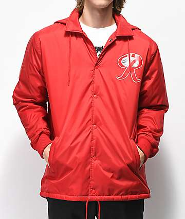 Casual Industrees x Rainier Red Coaches Jacket
