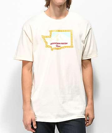 Casual Industrees x Rainier Washington Fresh Cream T-Shirt