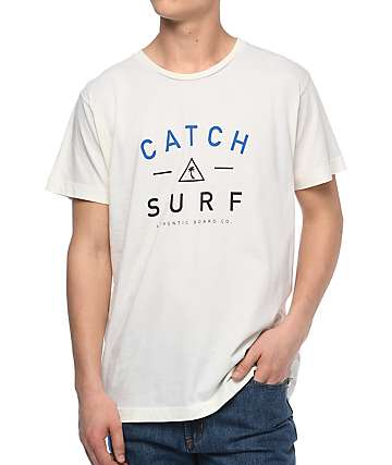 Catch Surf Mercer camiseta blanca