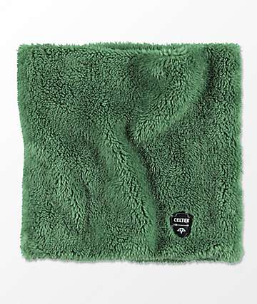 Celtek 5505 Olive Sherpa Neck Warmer