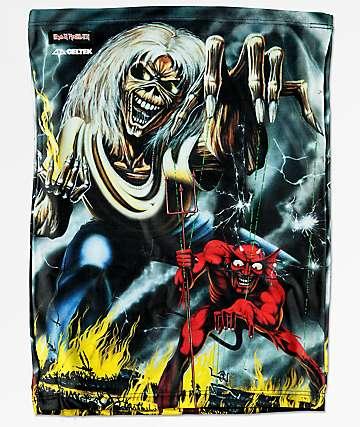 Celtek Hangover calentador de cuello de Iron Maiden
