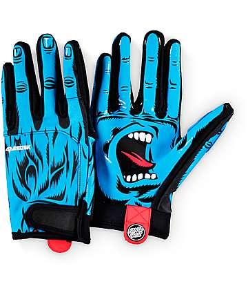 Celtek x Santa Cruz Misty Screaming Hand Snowboard Gloves
