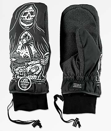 Celtek x Sketchy Tank Bitten By A Rope Tow Snowboard Mittens