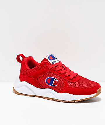 8b8f3e21f787b Champion 93 Eighteen Classic Red   White Shoes