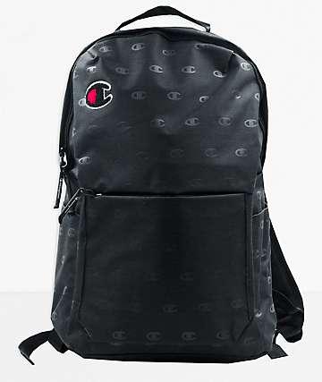 Champion Advocate Black Backpack