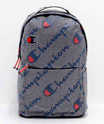 41bb6b24d5 Champion Advocate Grey Backpack