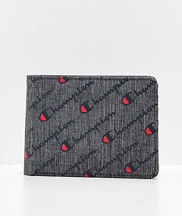 Champion Advocate Grey Bifold Wallet
