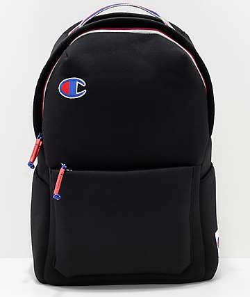 Champion Attribute 22.5L Black Backpack