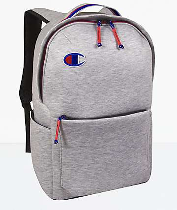 Champion Attribute Heather Grey Backpack