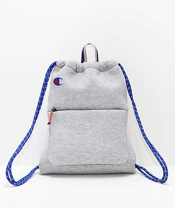 Champion Attribute Heather Grey Cinch Bag