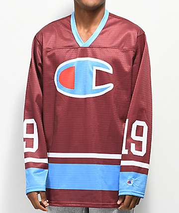 Champion Berry Long Sleeve Hockey Jersey 5a7d7befb