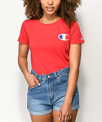 96664512fa7 Champion Big C Red T-Shirt