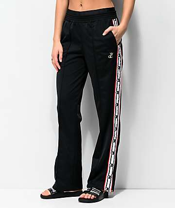 Champion Black & White Taping Track Pants
