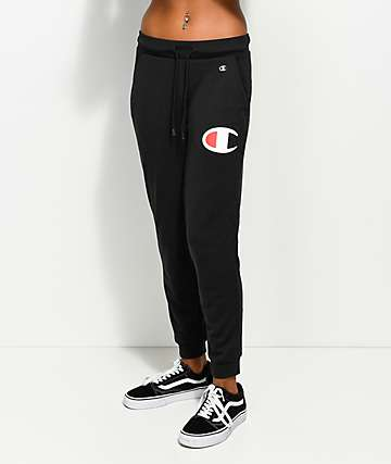 Champion Black Jogger Pants