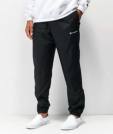 Champion Black Warm Up Pants