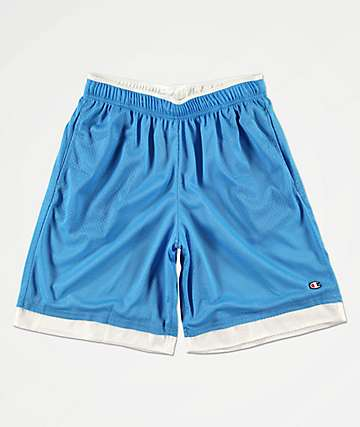 Champion Blue & White Basketball Shorts