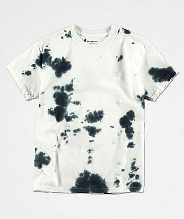 Champion Boys Blue Tie Dye T-Shirt