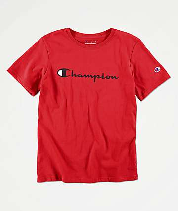 Champion Boys Heritage Red T-Shirt