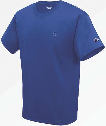 Champion Classic Surf The Web Blue T-Shirt