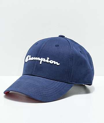Champion Classic Twill Indigo Strapback Hat