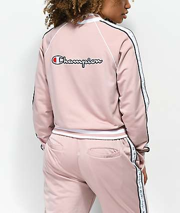 Champion Dream Pink Track Jacket