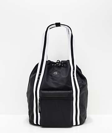 Champion Free-Form Black Tote Backpack