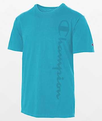 Champion Garm Dye Blue T-Shirt