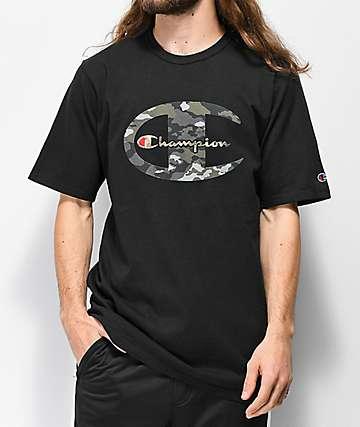 Champion Heritage Camo C camiseta negra