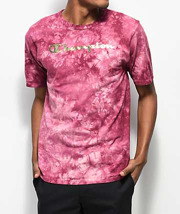 Champion Heritage Dye Washed Berry T-Shirt