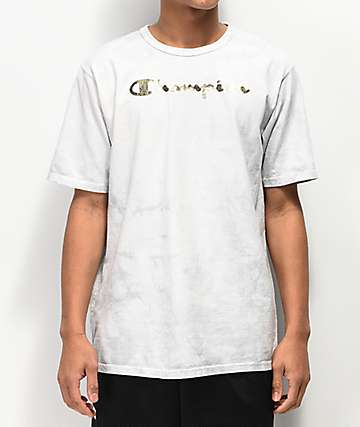 Champion Heritage Dye Washed Grey T-Shirt