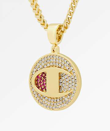 Champion Heritage Medallion Gold Necklace